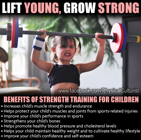 strength training for kids