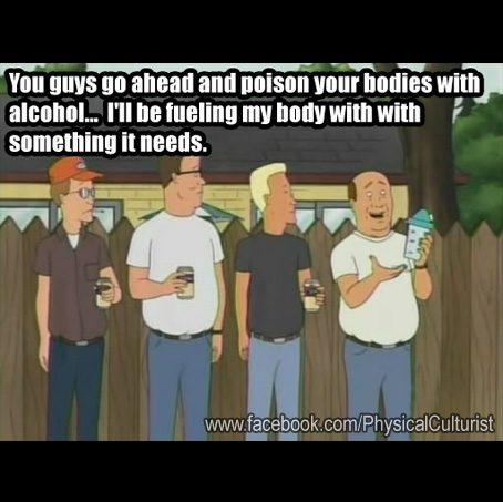 King of the Hill - SE11E11 - Bill  Bulk  and the Body Buddies Protein Shake
