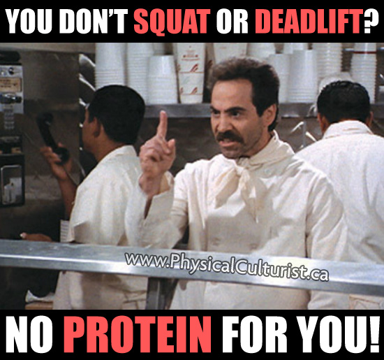 Soup Nazi from Seinfeld is now the Protein Nazi!
