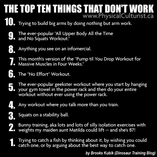 Top 10 Things That Don't Work