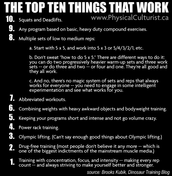 Top 10 Things That Work