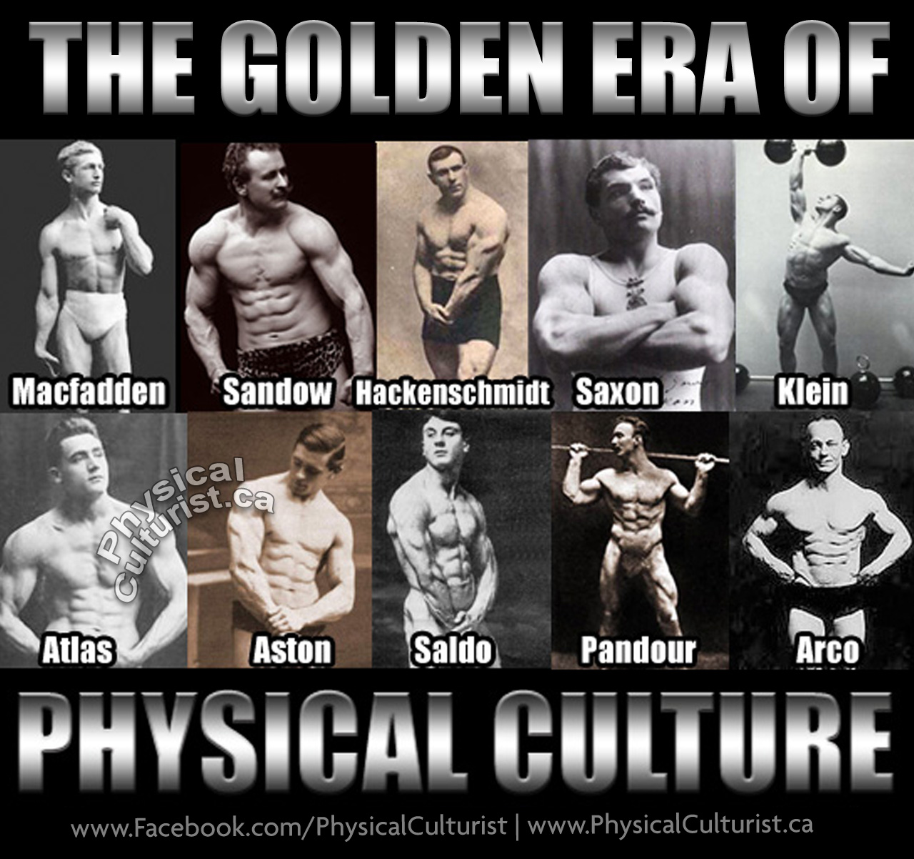Physical Culture - The Era Before Fancy Supplements and Drugs
