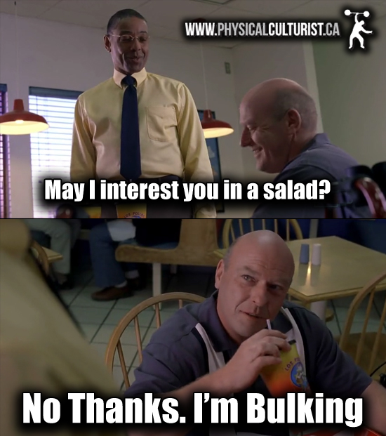 If Breaking Bad Was Written for Lifters