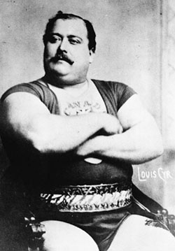 louis cyr strongest man in the world