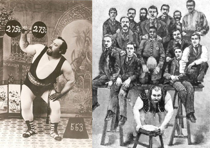louis cyr lifting