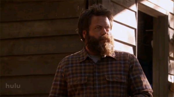 parks and recreation ron swanson beard