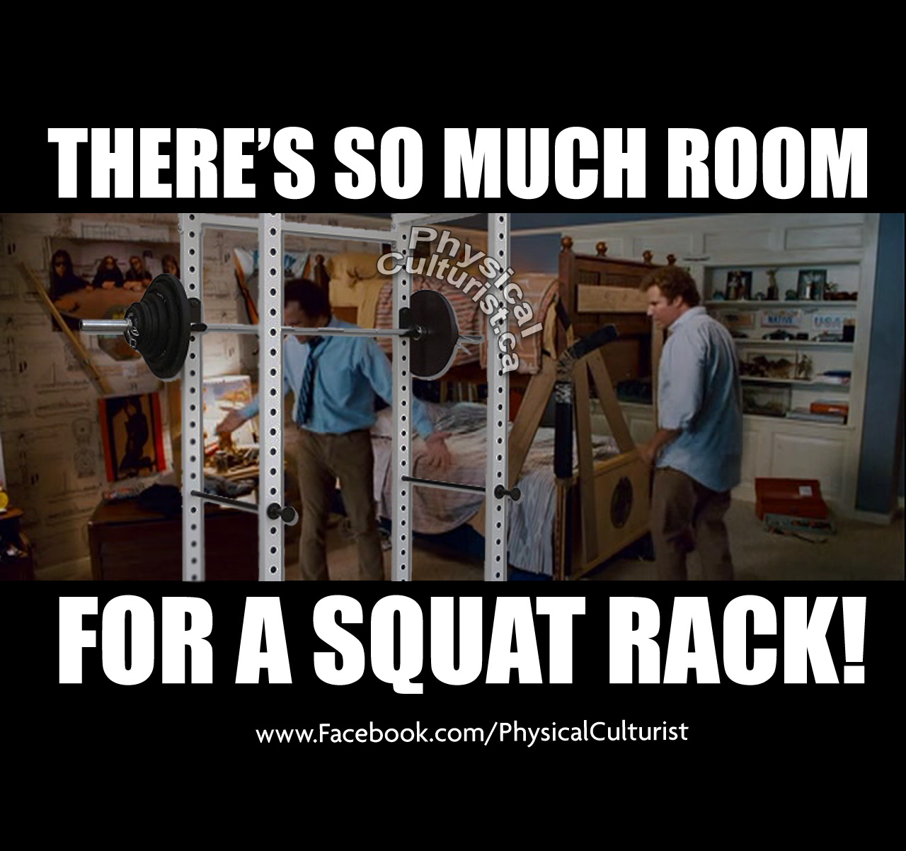 step brothers there's so much room for activities gym