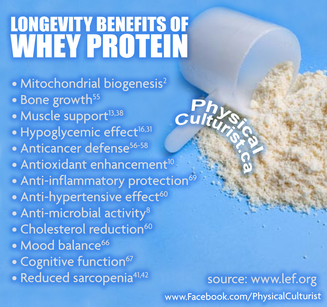 New Longevity Benefits of Whey Protein