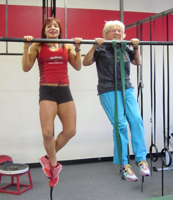 Jean Stewart the Deadlifting (Great, Great) Grandma - CrossFit WOD