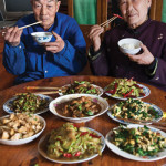 stirfry - chinese people eating