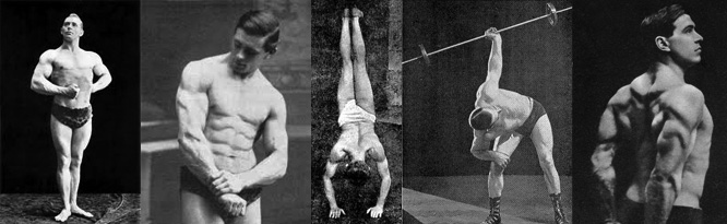 old time strongman training methods