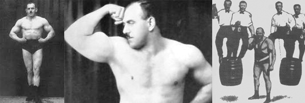 hermann Goenrer strongman diet
