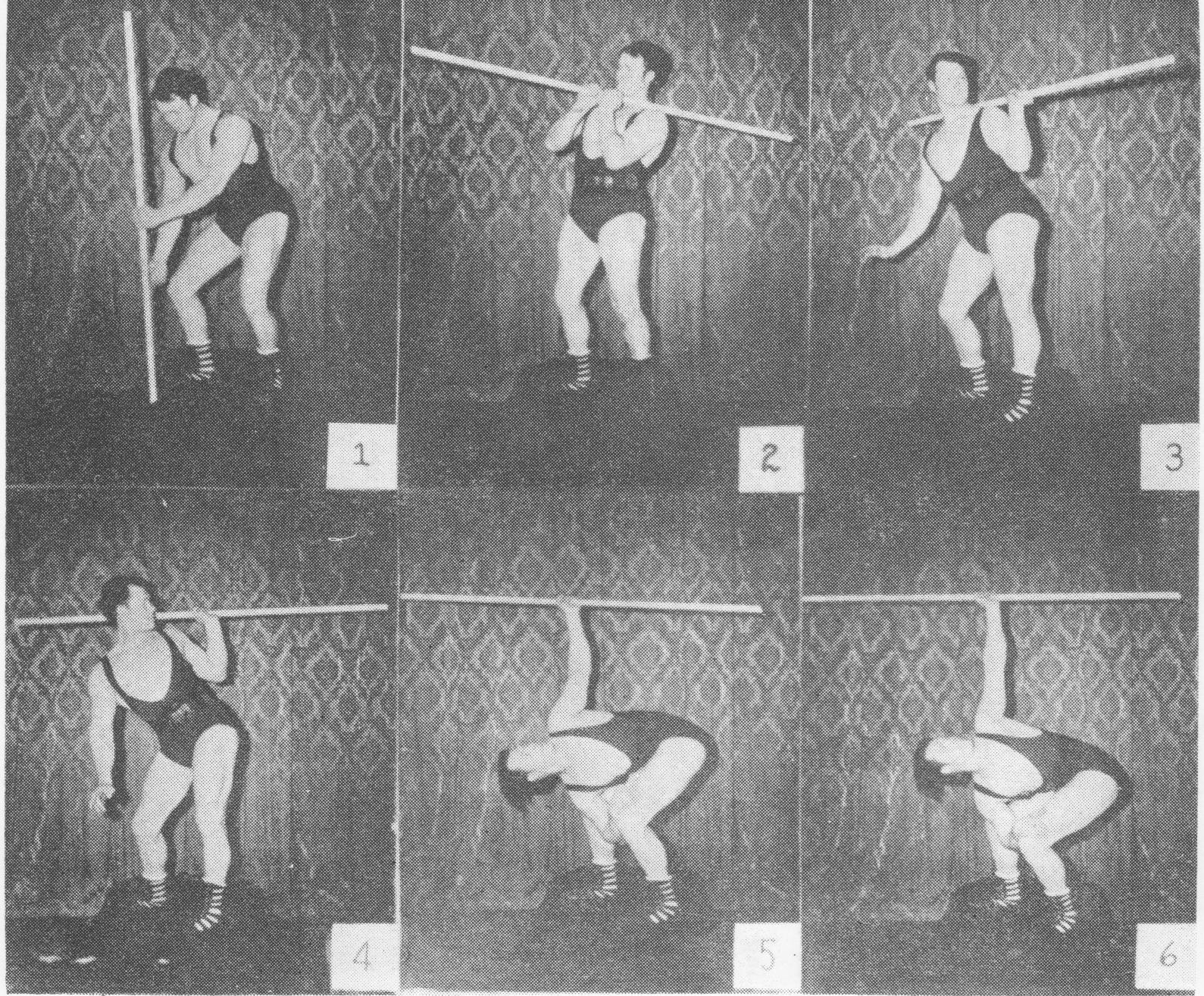 how to perform the bent press