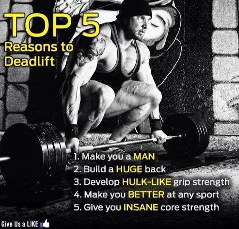 Top 5 Reasons to Deadlift