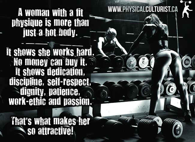 A Woman With A Fit Physique Is More Than Just A Hot Body