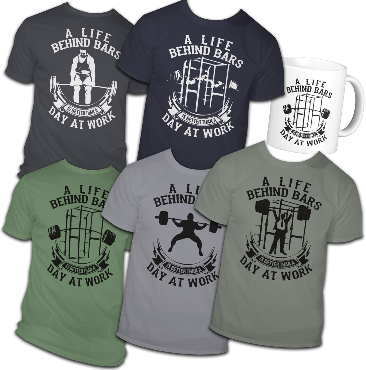 Life Behind Bars Is Better Than A Day At Work Shirts