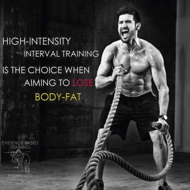 High-Intensity Interval Training Is The Choice When Aiming To Lose Body-Fat