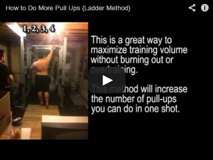 How to Do More Pull Ups (Ladder Method)