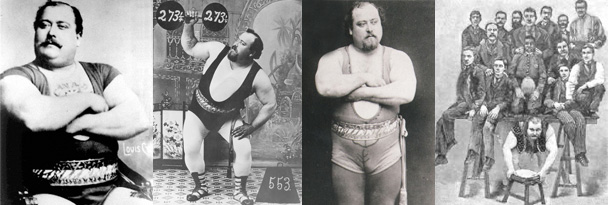 LOUIS CYR strongman diet