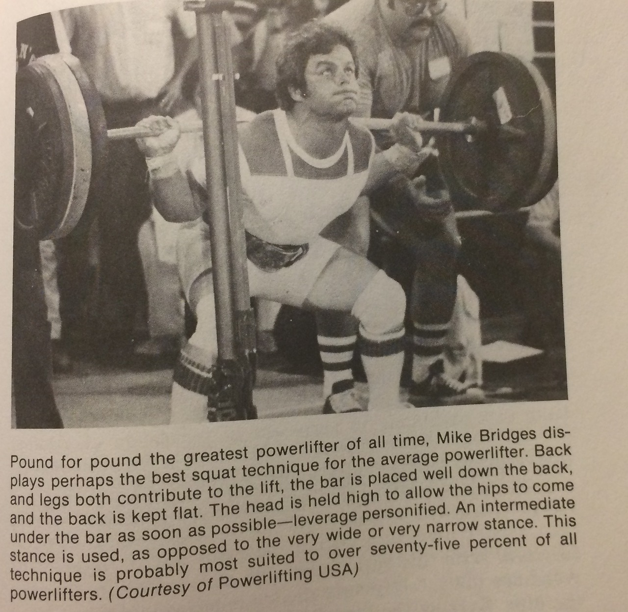 An excerpt from Fred Hatfield's (unfortunately out-of-print) powerlifting book, where he talks about the different squat forms of various elite powerlifters