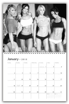 bodybuilding and fitness calendars