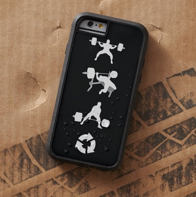 iphone 6 phone cases for gym, bodybuilding, powerlifting, weightlifting, strongman, crossfit, wod, lifting, etc