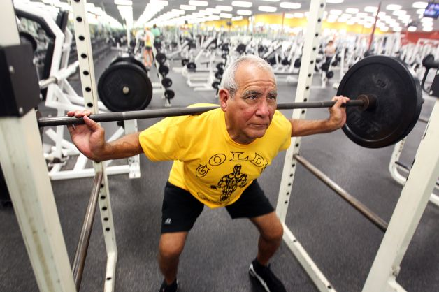 How do They Do it? 80 Year Olds With 40-Year Old Muscle Mass