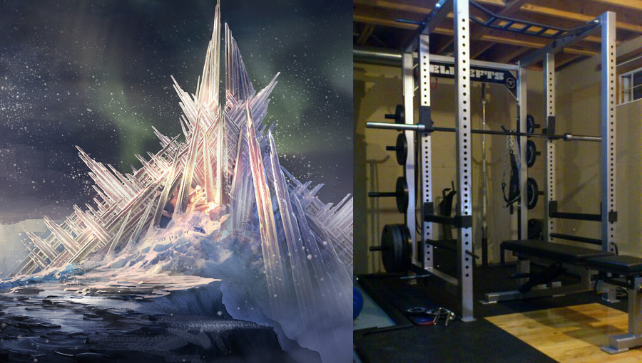 Top 5 Benefits Of Having A Home Gym - fortress of solitude squat power rack