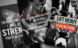 motivational gym posters
