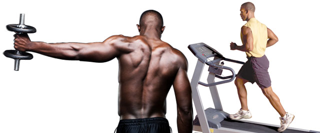 Do your cardio after weight training and burn more fat
