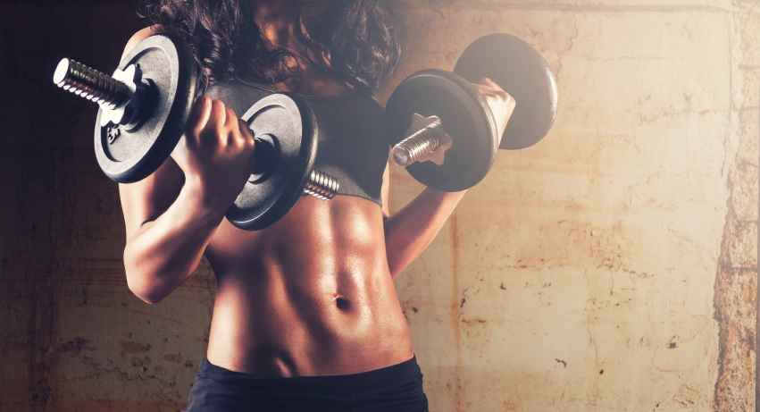 Resistance Training, Not Starving Yourself or
